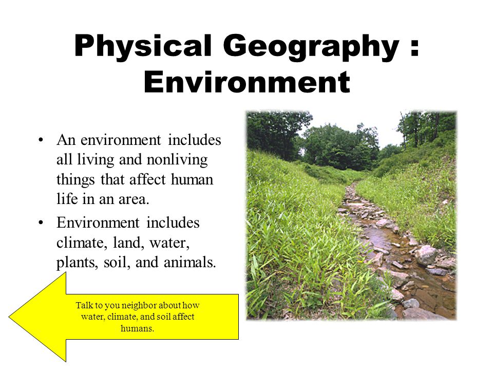Physical Geography : Environment