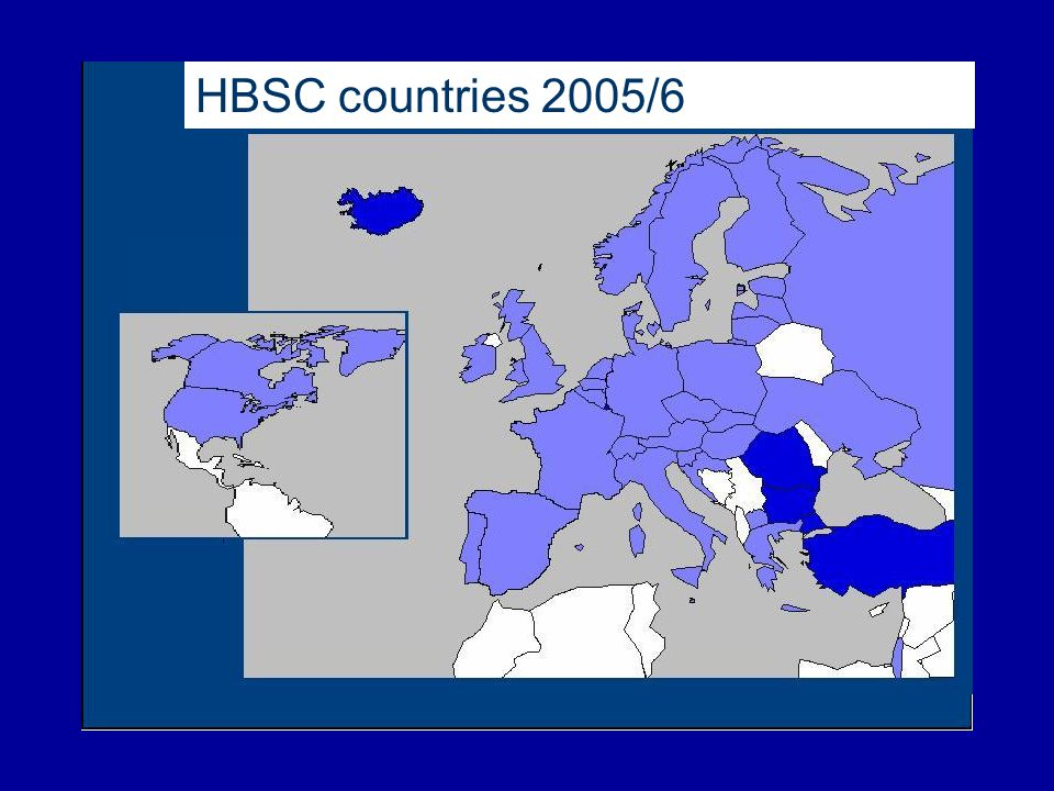 HBSC countries 2005/6