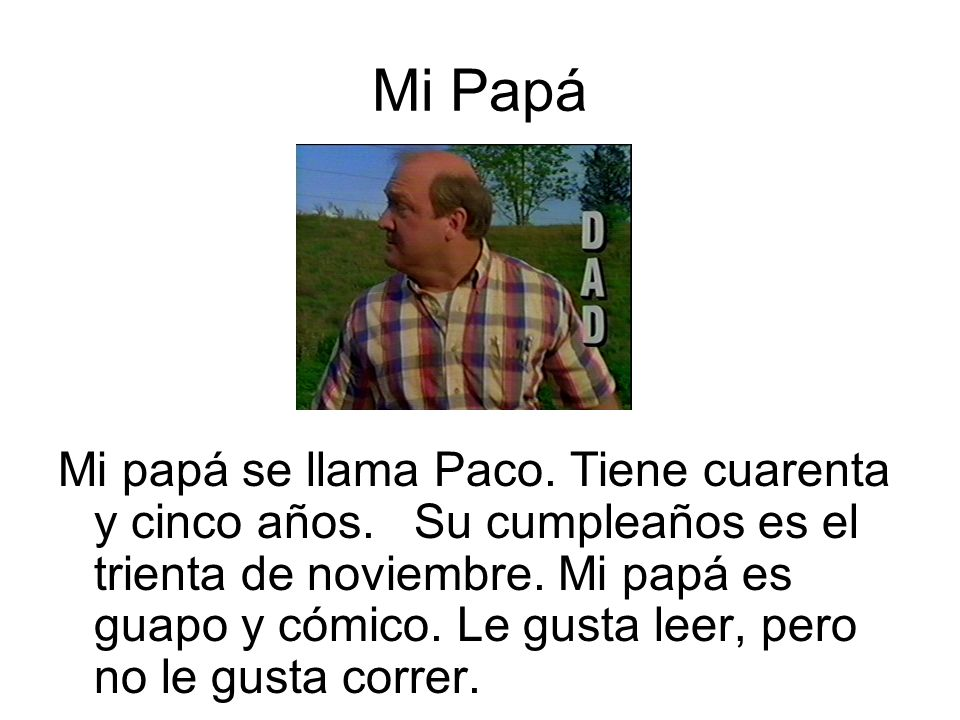 Mi Papá