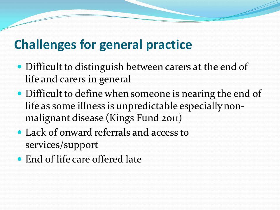 Challenges for general practice