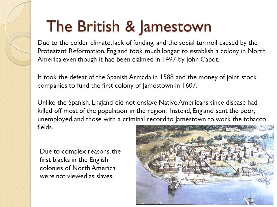 The British & Jamestown