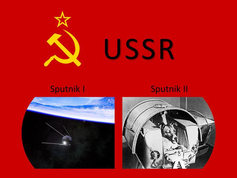 USSR Sputnik I Sputnik II