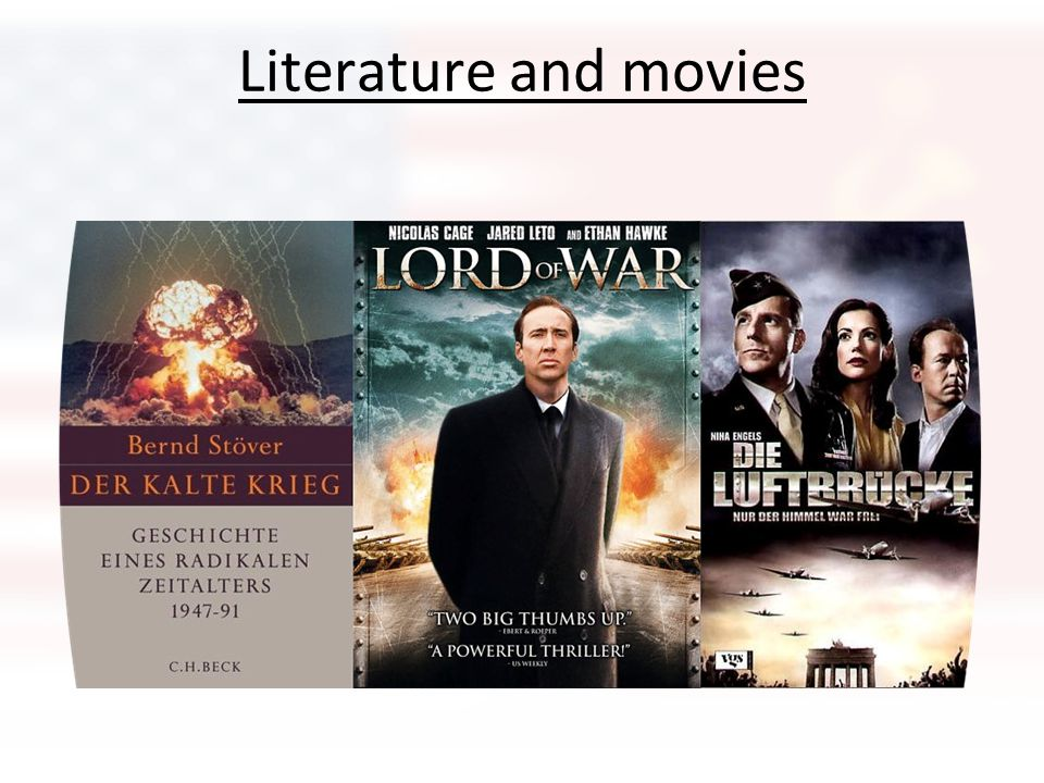 Literature and movies