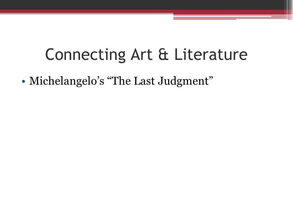 Connecting Art & Literature