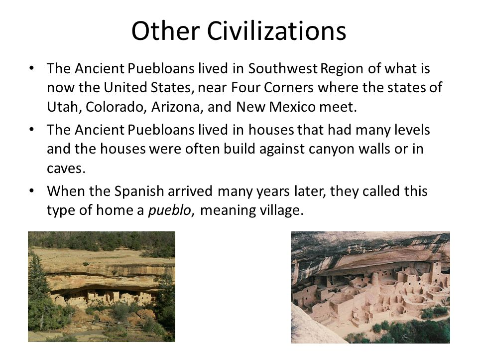 Other Civilizations