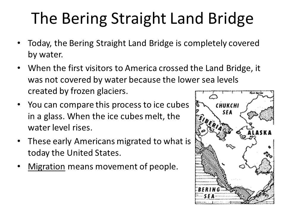The Bering Straight Land Bridge