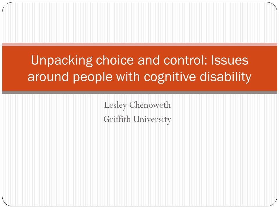 Lesley Chenoweth Griffith University
