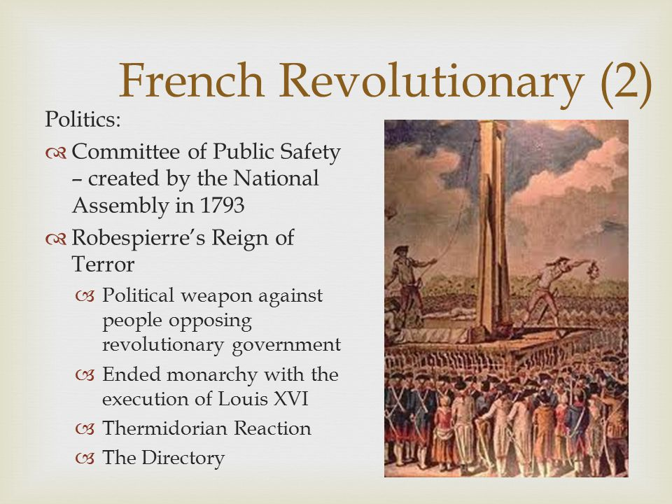 French Revolutionary (2)