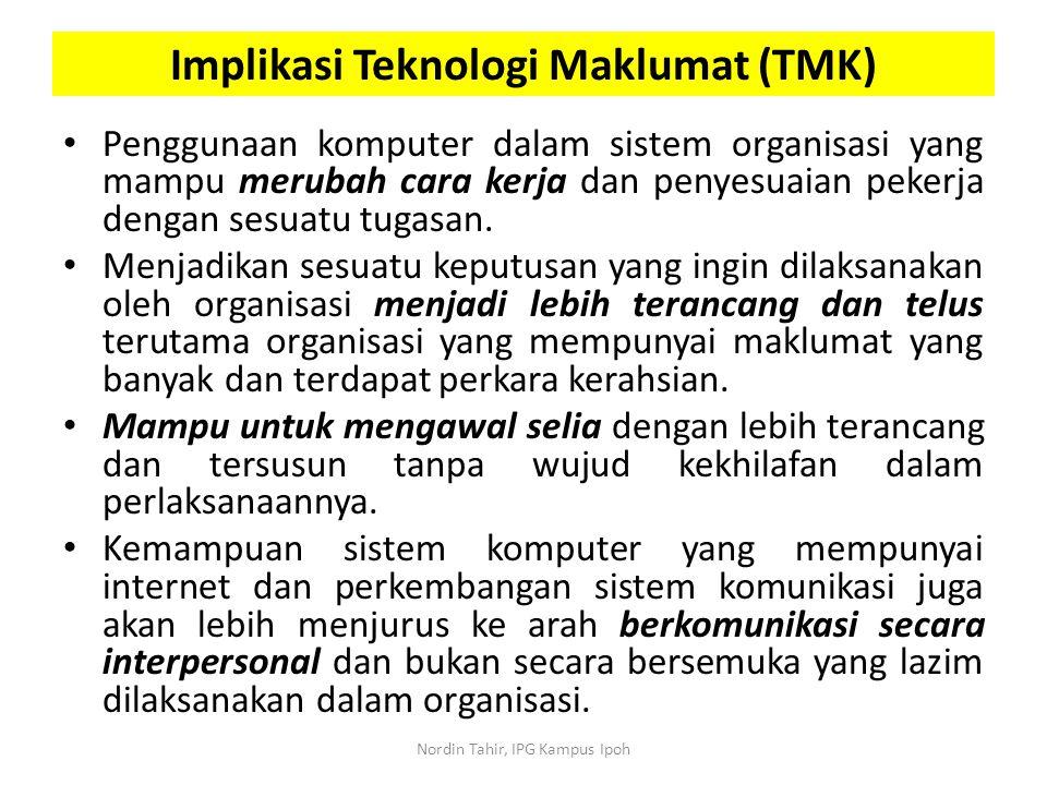 Implikasi Teknologi Maklumat (TMK)