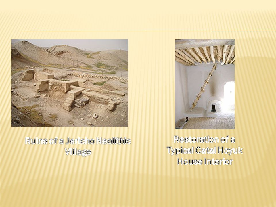 Ruins of a Jericho Neolithic Village