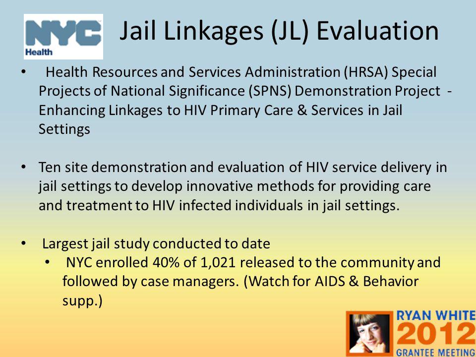 Jail Linkages (JL) Evaluation