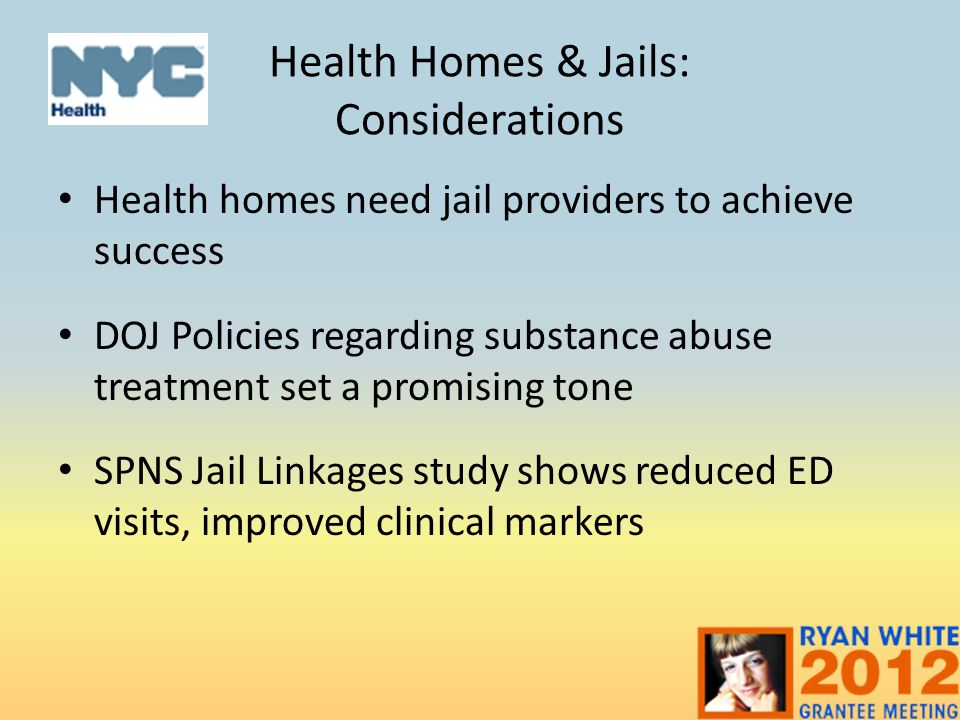 Health Homes & Jails: Considerations