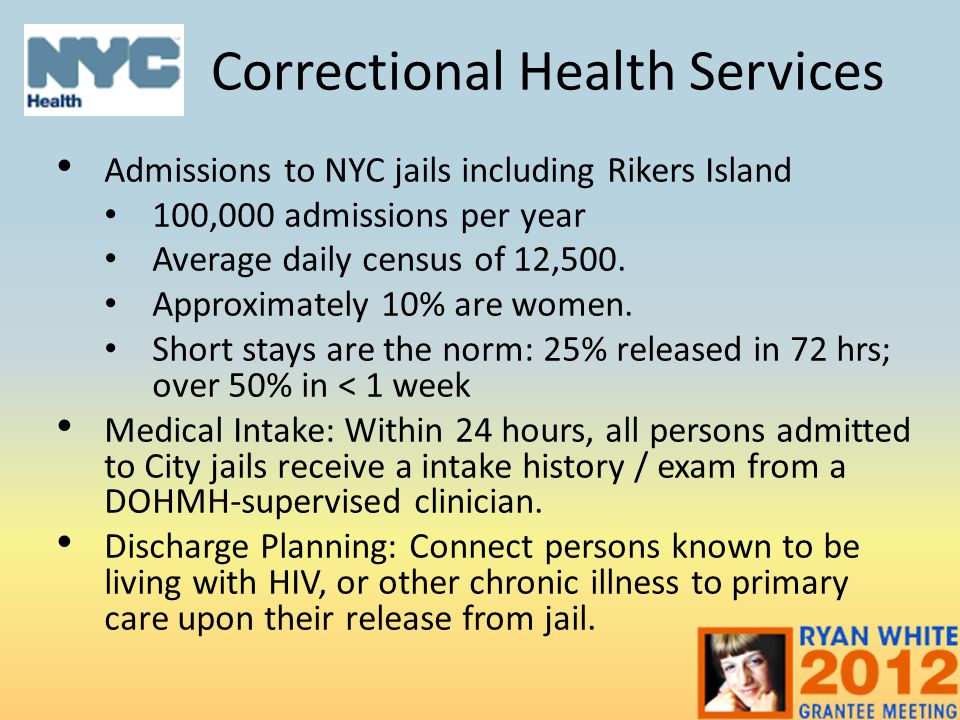 Correctional Health Services