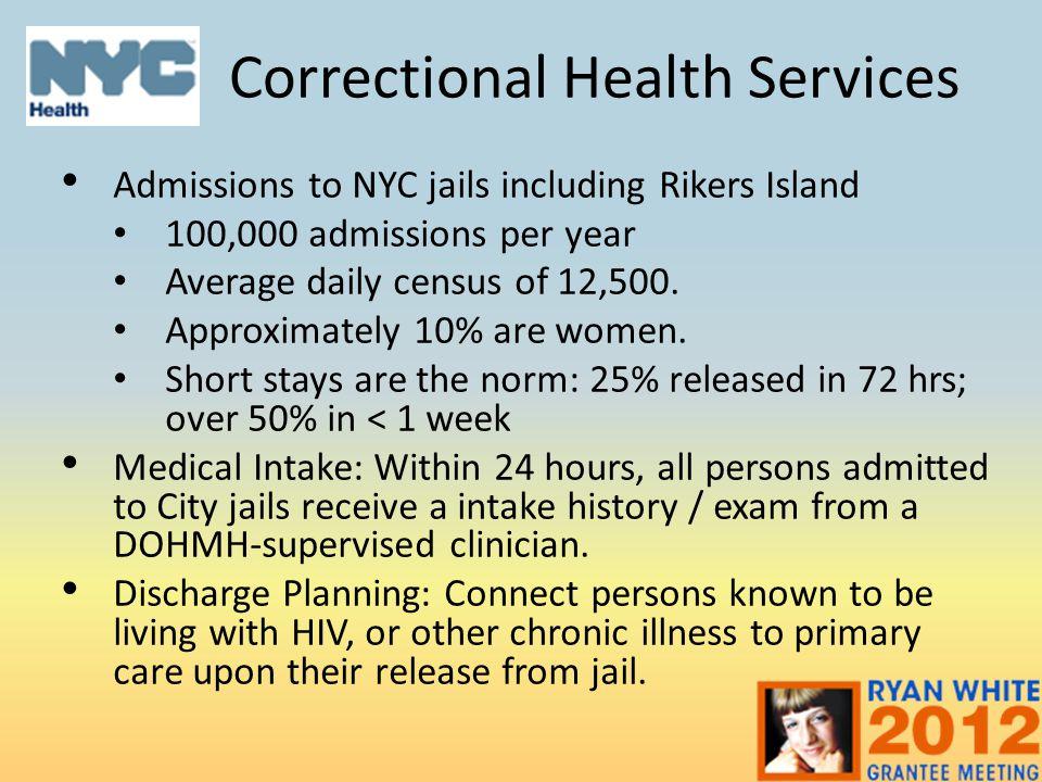 Correctional Health Services