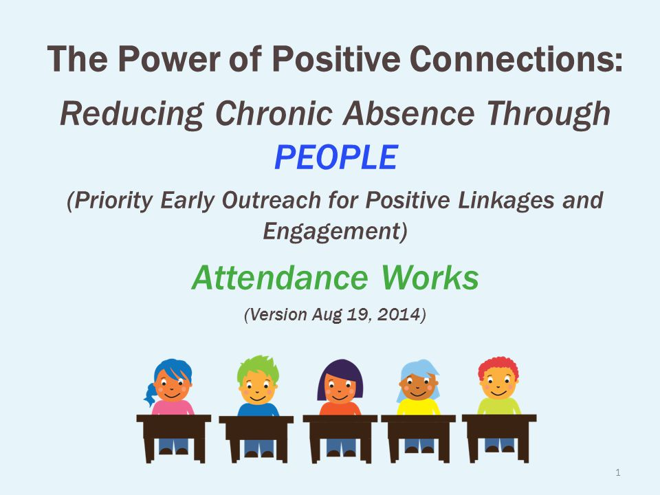 The Power of Positive Connections: