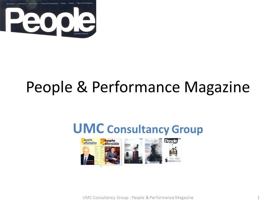 People & Performance Magazine