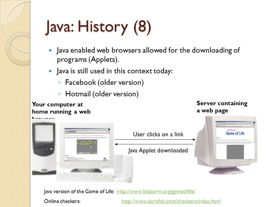Java Applet downloaded