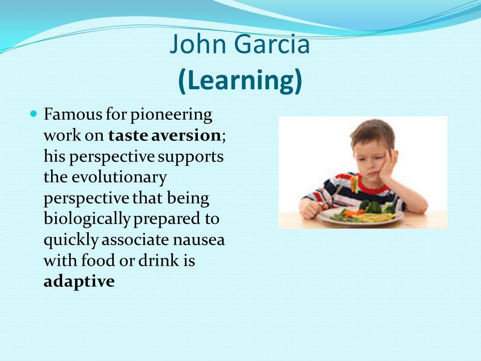 John Garcia (Learning)