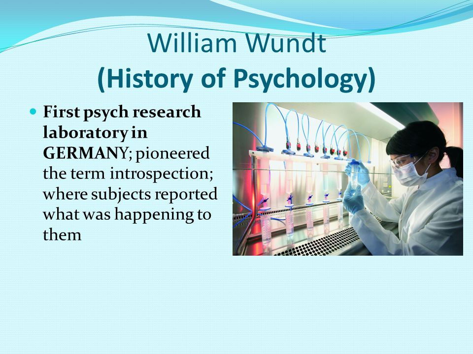 William Wundt (History of Psychology)