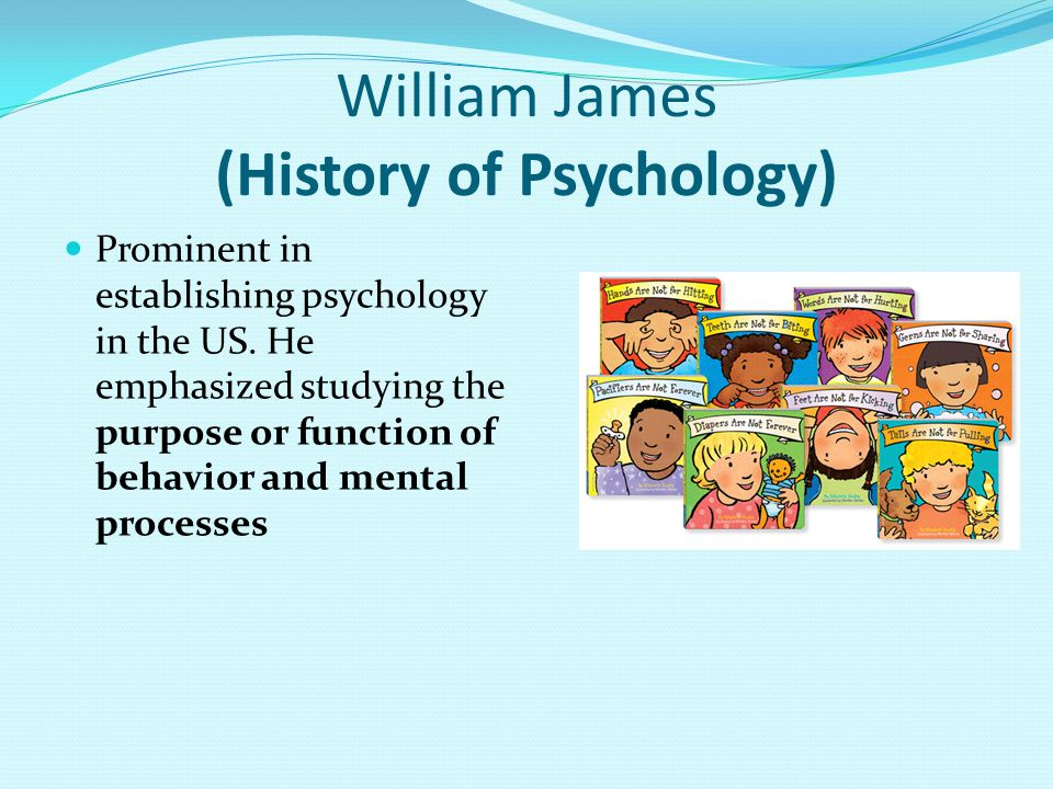William James (History of Psychology)