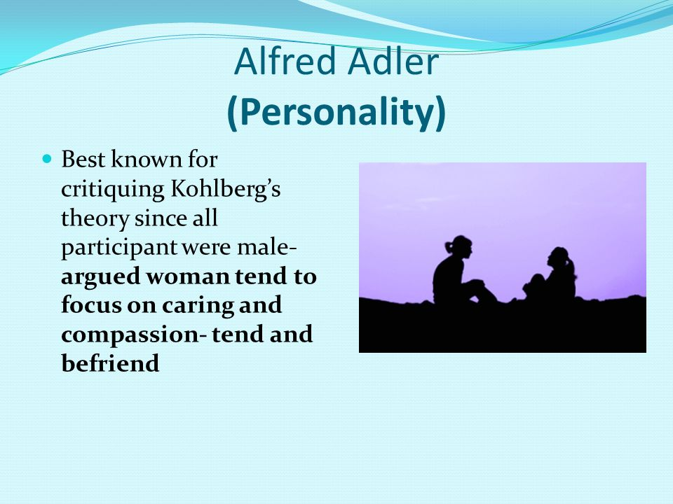 Alfred Adler (Personality)