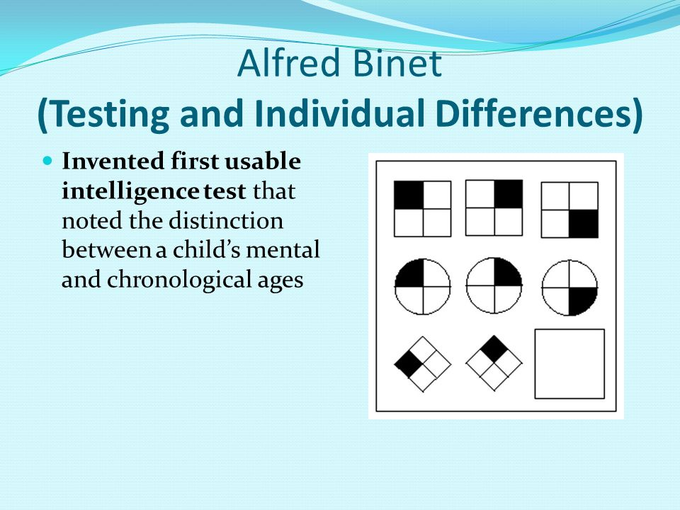 Alfred Binet (Testing and Individual Differences)