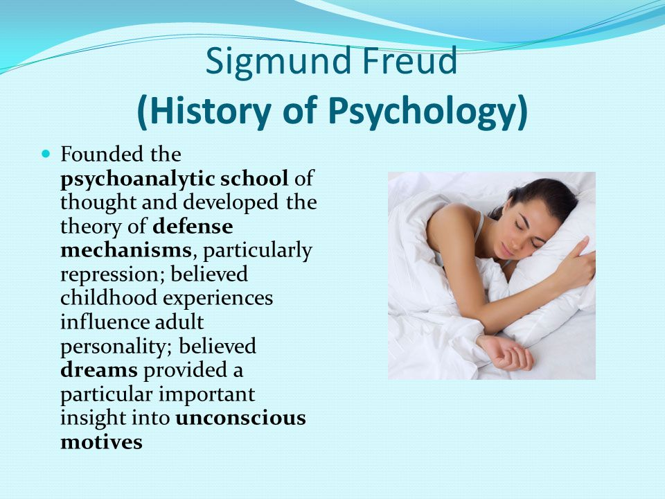 Sigmund Freud (History of Psychology)