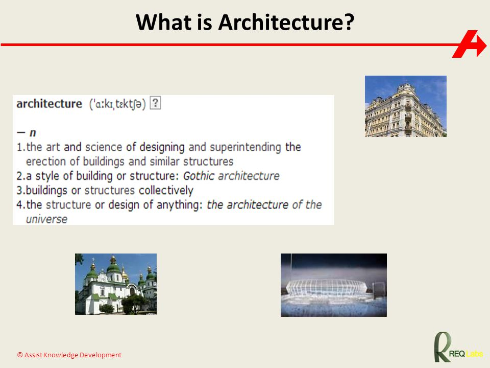 What is Architecture