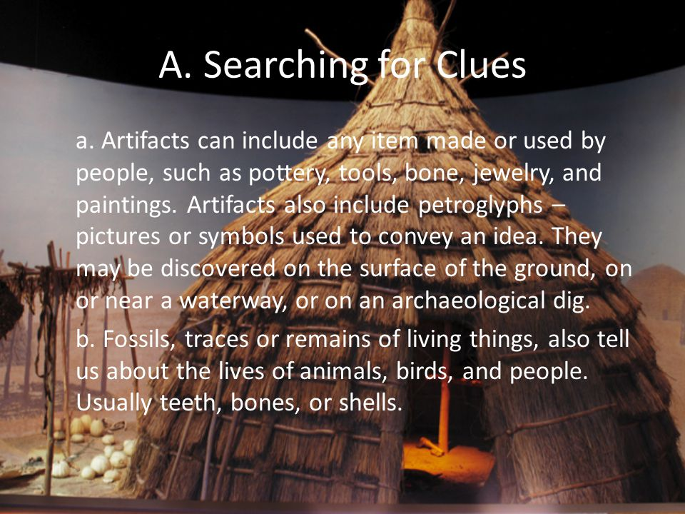A. Searching for Clues