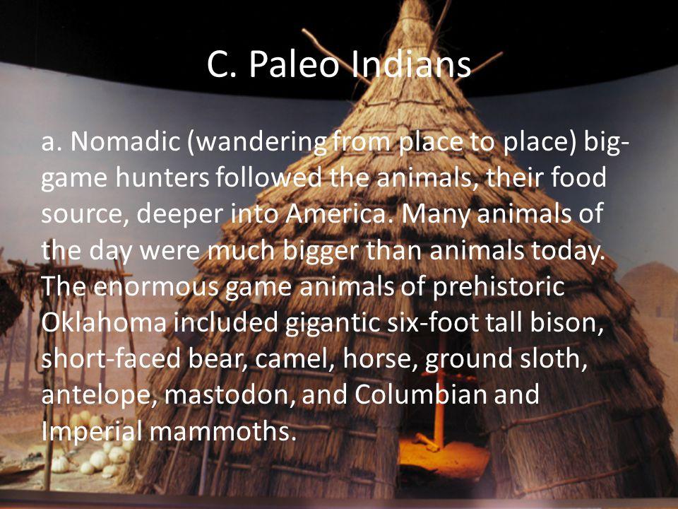 C. Paleo Indians