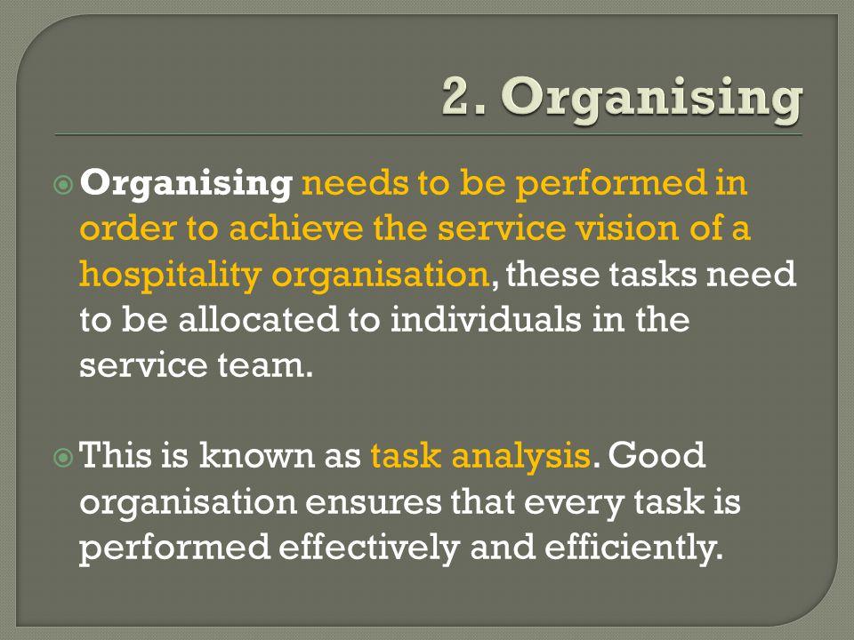 2. Organising