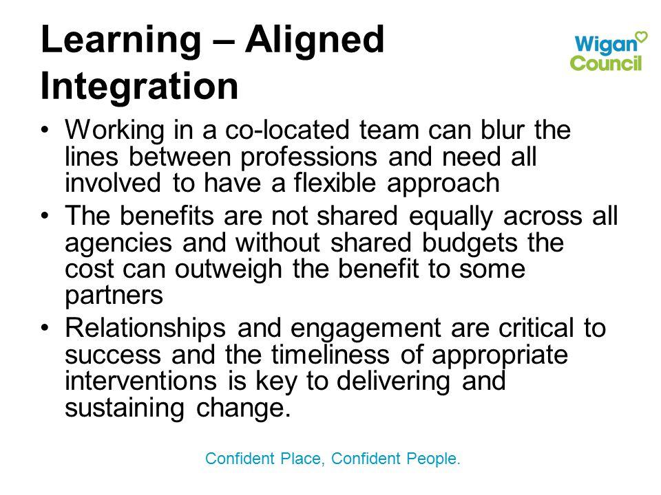 Learning – Aligned Integration