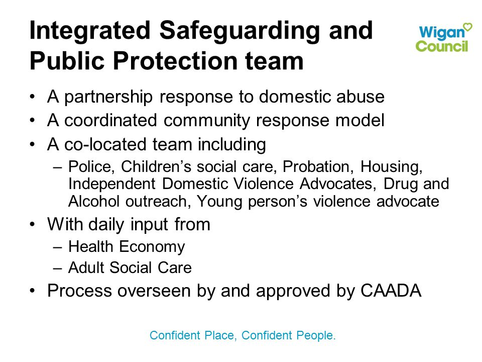 Integrated Safeguarding and Public Protection team