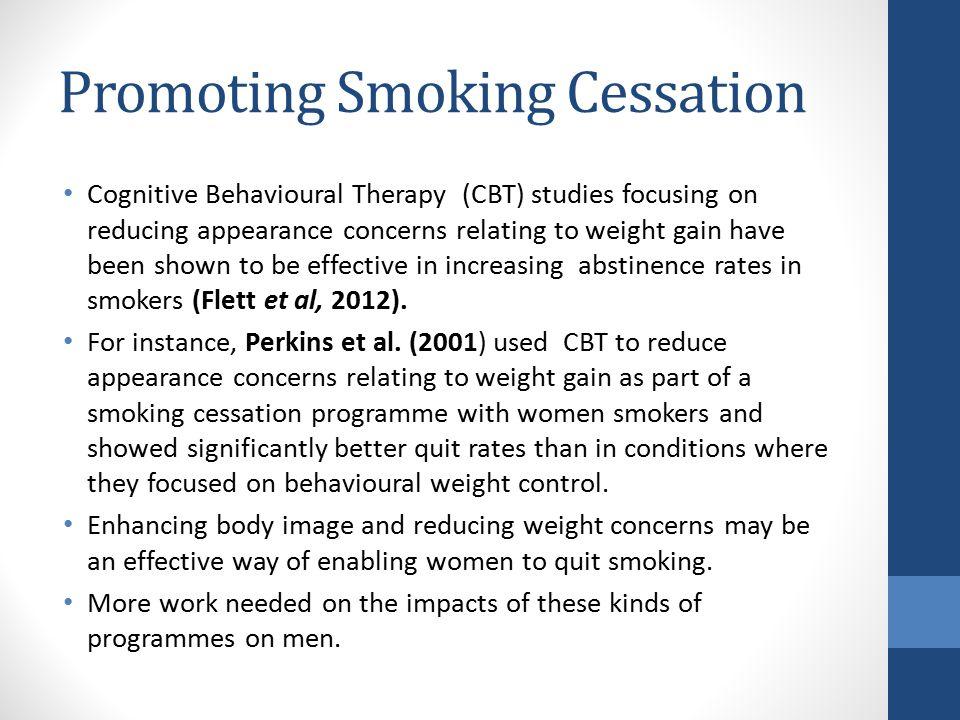 Promoting Smoking Cessation