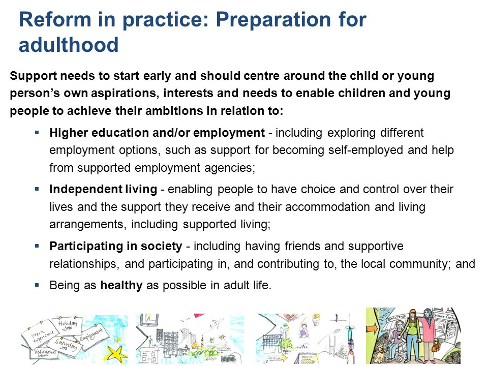Reform in practice: Preparation for adulthood