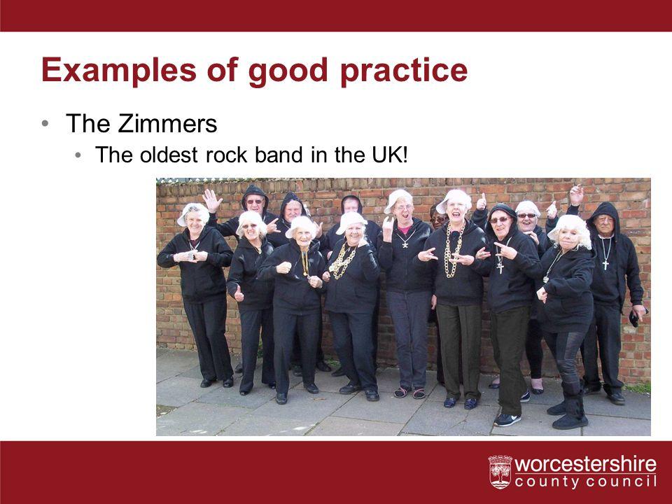 Examples of good practice