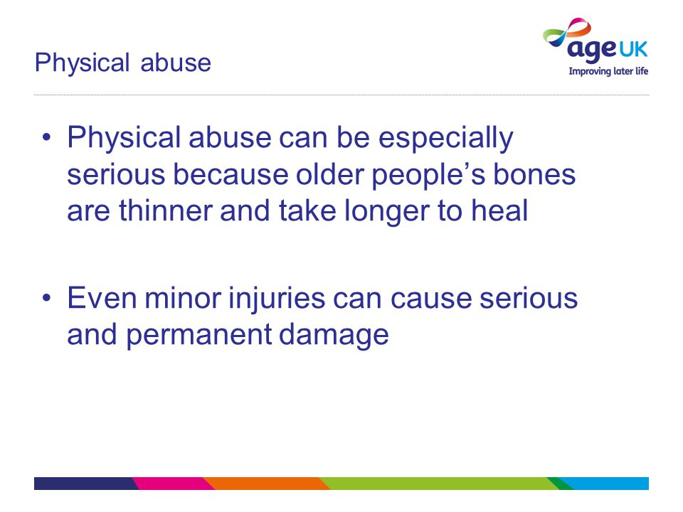 Even minor injuries can cause serious and permanent damage