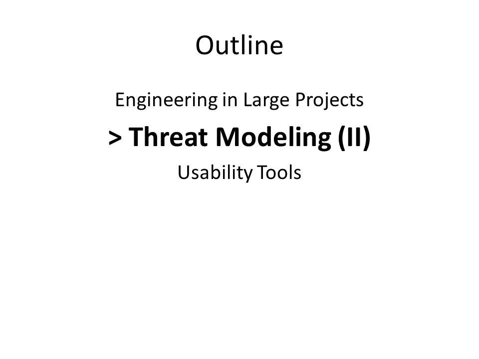 > Threat Modeling (II)