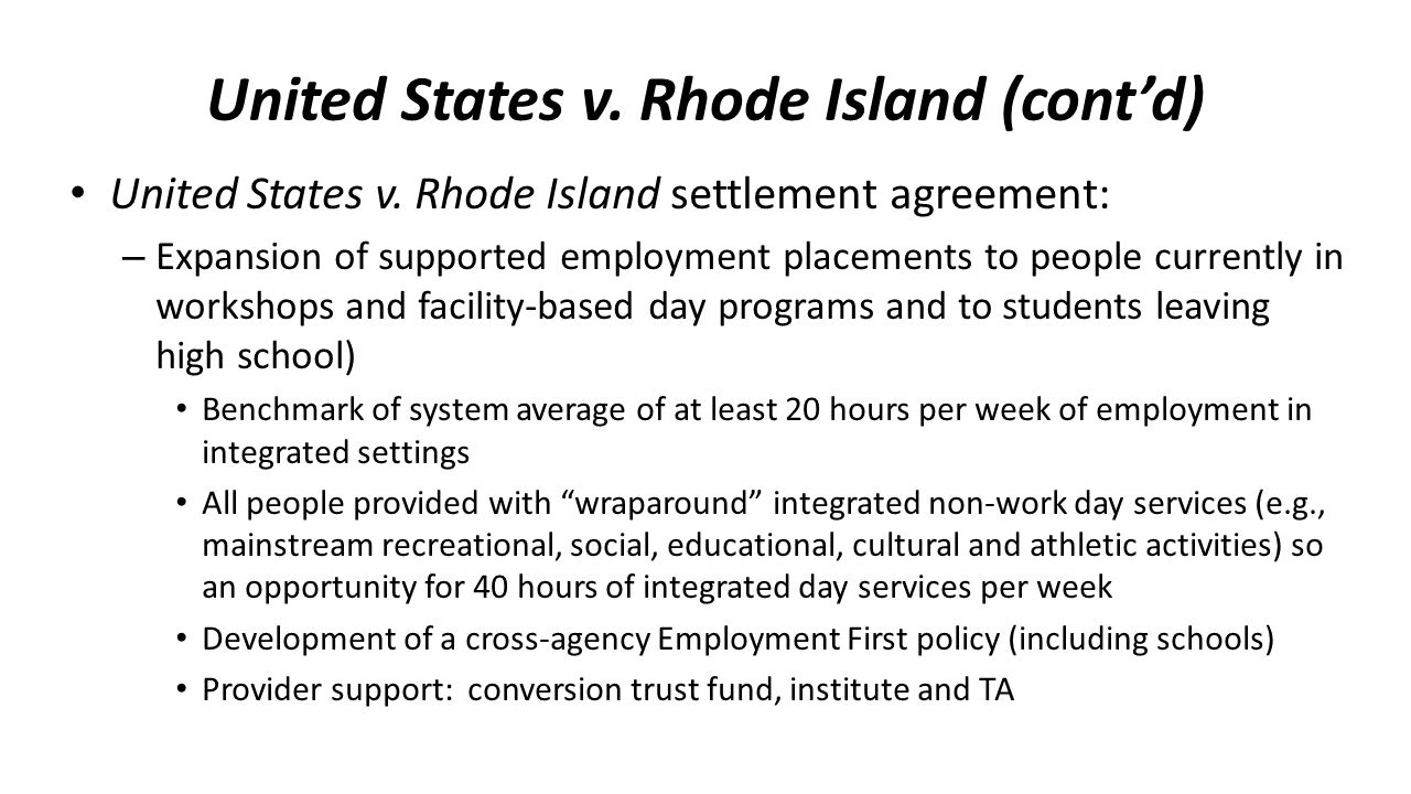 United States v. Rhode Island (cont'd)