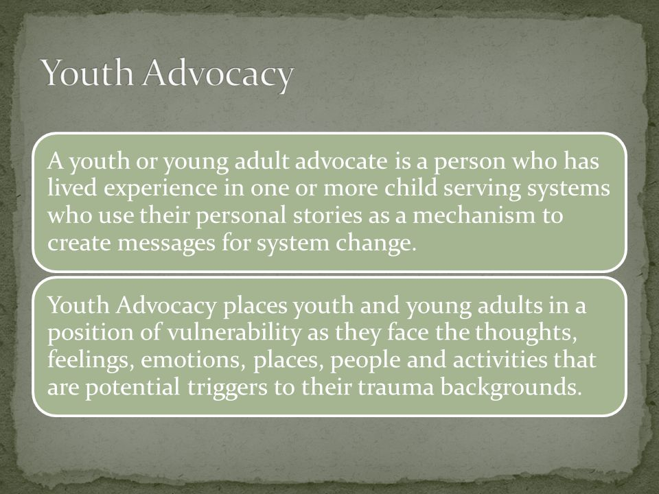 Youth Advocacy
