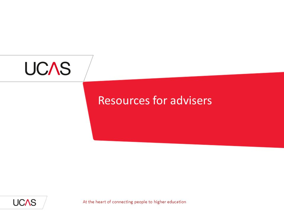 Resources for advisers