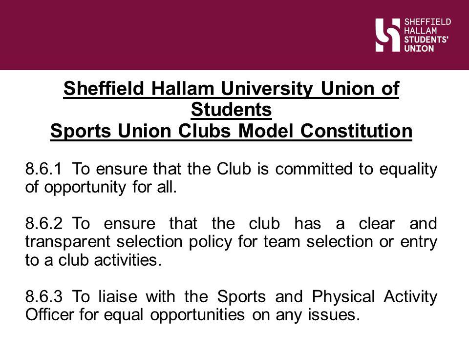 Sheffield Hallam University Union of Students