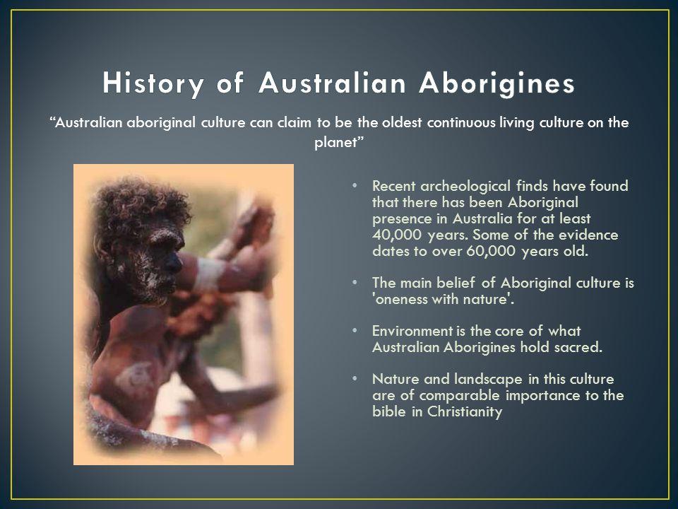 History of Australian Aborigines