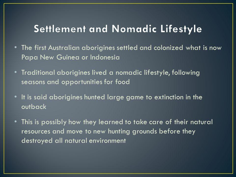Settlement and Nomadic Lifestyle