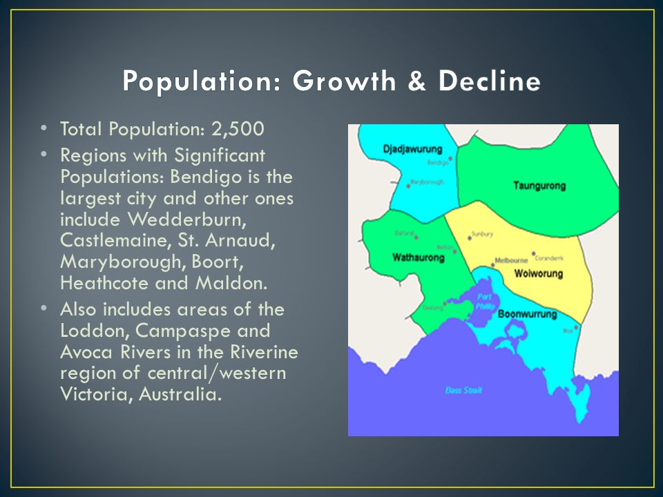 Population: Growth & Decline