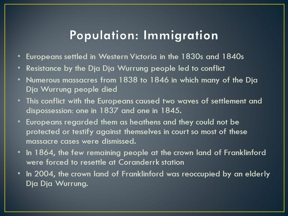 Population: Immigration