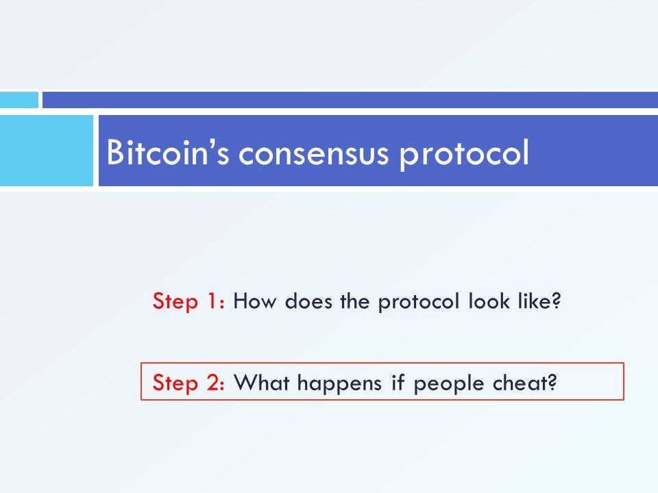 Bitcoin's consensus protocol