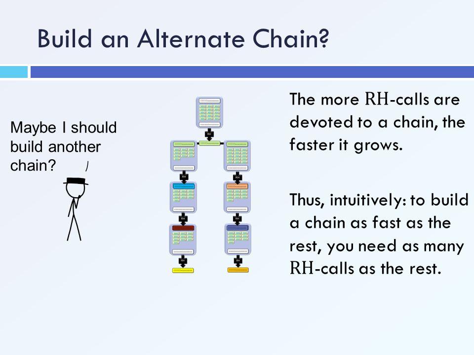 Build an Alternate Chain