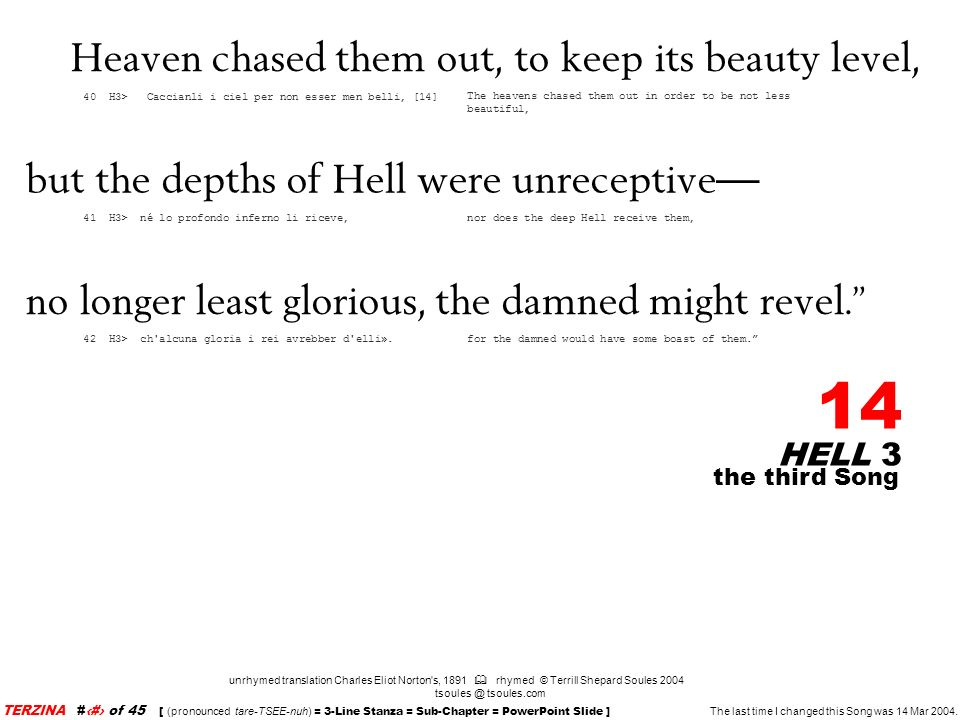 Heaven chased them out, to keep its beauty level,