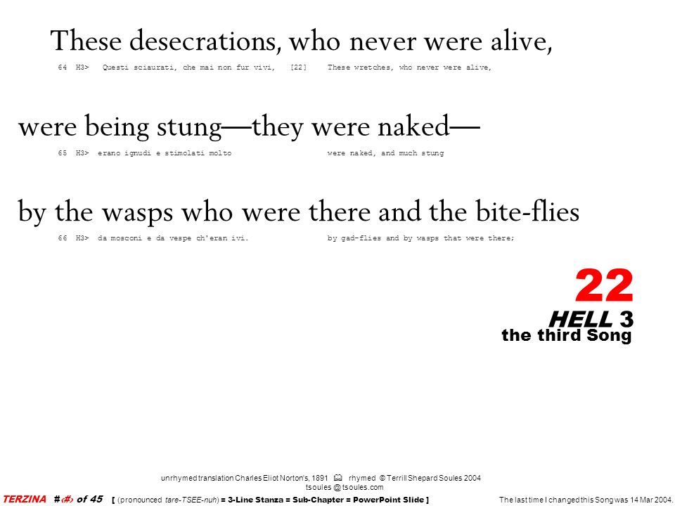 These desecrations, who never were alive,